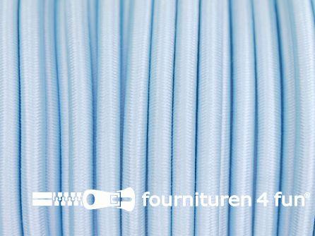 Elastisch koord 4,5mm baby blauw