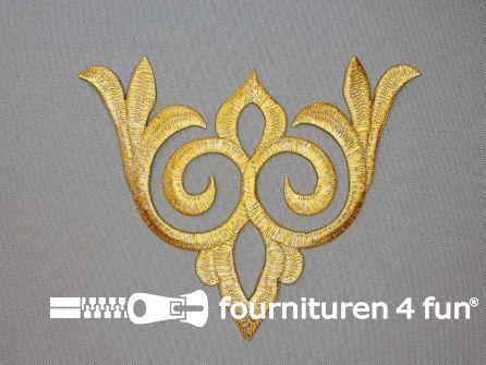 Barok applicatie 140x170mm goud