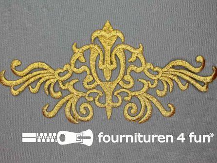 Barok applicatie 210x85mm goud