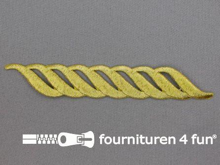 Barok applicatie 155x23mm goud