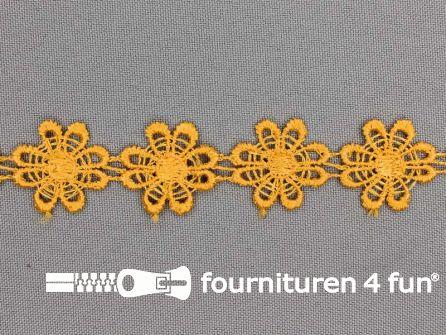 Bloemenkant 23mm mais geel