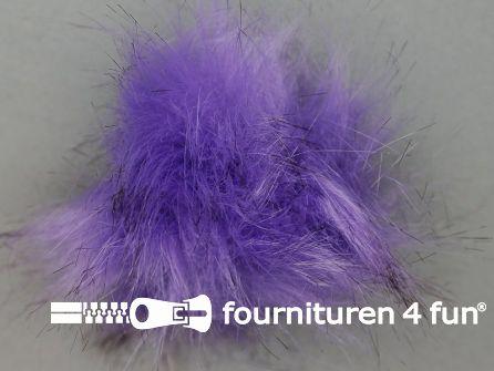 Bont pompon 8cm lila