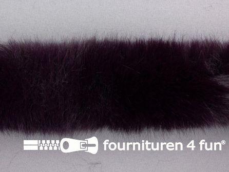 Bont rand per meter 50mm donker paars