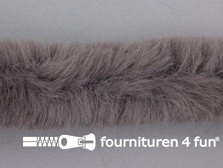 Bont rand per meter 50mm grijs