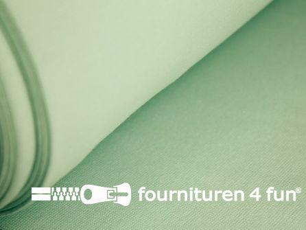 Fijn boordstof 35cm licht mint groen