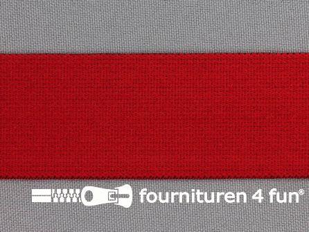 Boxershort elastiek 32mm rood