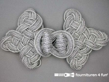 Brandenburger 135x250mm zilver
