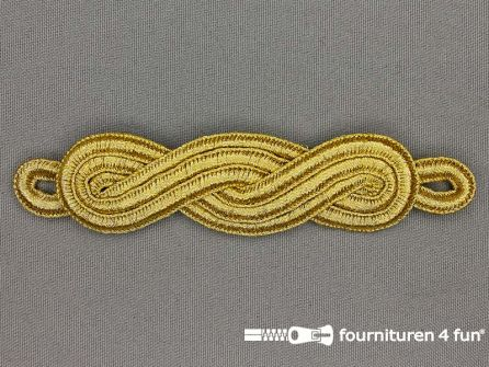 Brandenburger epaulet 25x120mm goud