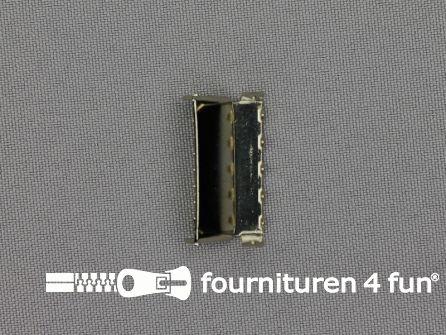 Bretelversteller 25mm chroom