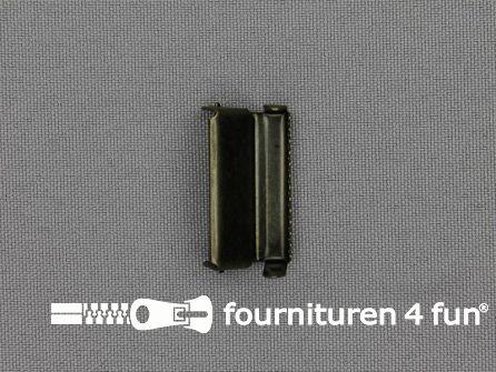 Bretelversteller 25mm licht brons