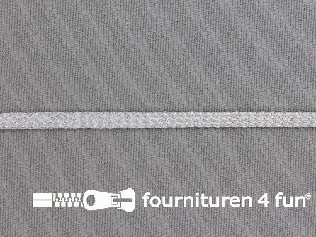 Brokaat zilver band 4mm