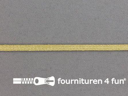 Brokaat goud band 4mm