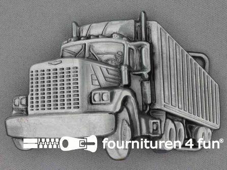 Buckle truck MACK black silver
