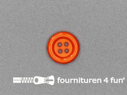 Clown knoop 23mm oranje