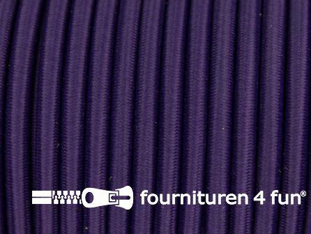 Elastisch koord 4,5mm donker paars