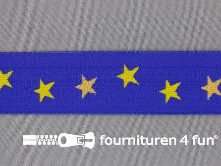 """Elastiek met sterren 32mm """"Europa"""""""