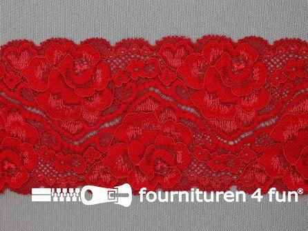 Elastisch kant 80mm rood