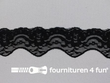 Elastisch kant 50mm zwart