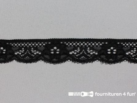 Elastisch kant 28mm zwart