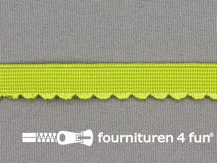Elastisch kant 10mm lime groen