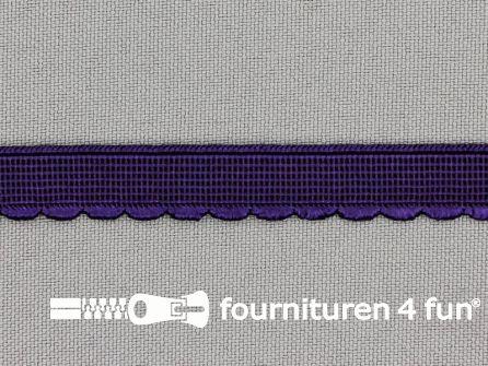 Elastisch kant 10mm aubergine paars