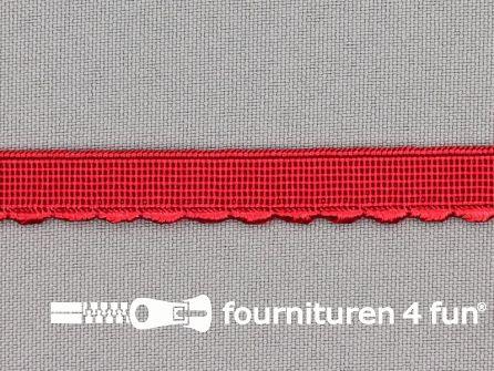 Elastisch kant 10mm rood