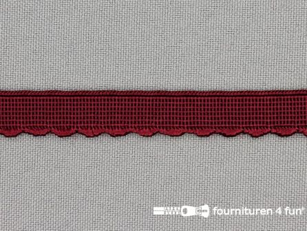 Elastisch kant 10mm bordeaux rood