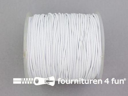 Rol 100 meter elastisch koord 1,5mm wit