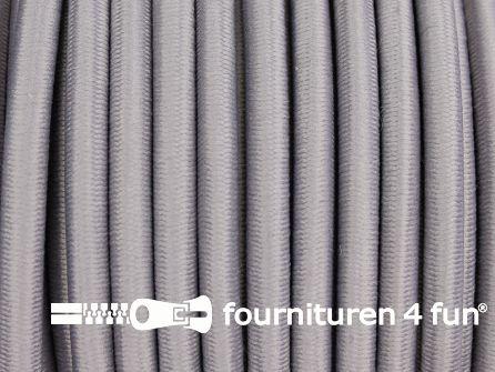 Elastisch koord 4,5mm licht grijs