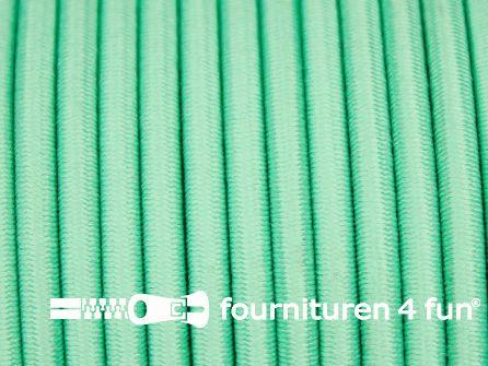 Rol 50 meter elastisch koord 3mm mint groen