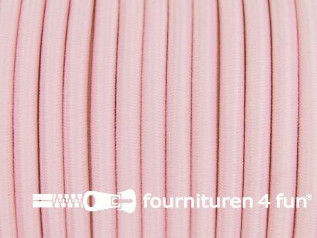 Elastisch koord 4,5mm baby roze