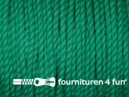 Katoen polyester koord 2,5mm emerald groen