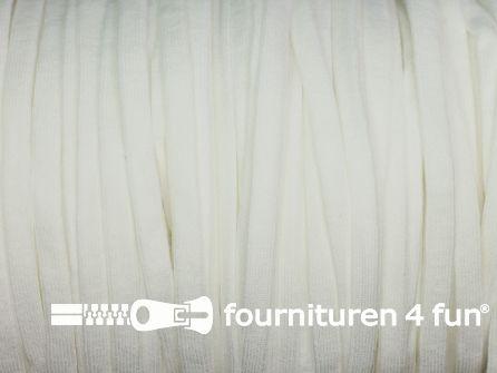 5 Meter extra zachte elastiek 5,5mm off white - supersoft