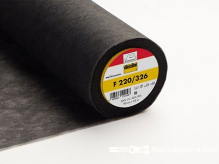 Vlieseline® Softline F220 zwart 25 meter x 90cm