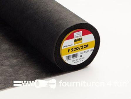 Vlieseline® Softline F220 zwart 2 meter x 90cm