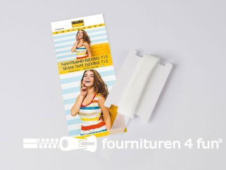 Vlieseline® Flexibel naadband wit per 5 meter