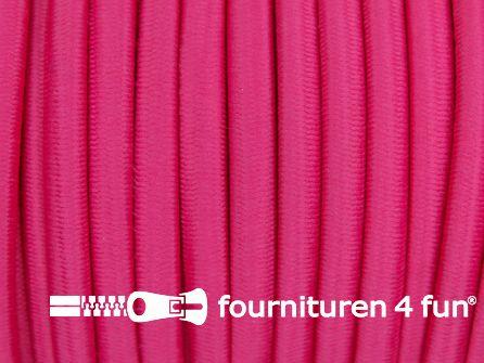 Elastisch koord 4,5mm fuchsia roze