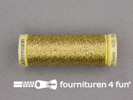 Gütermann Metallic naaigaren - 50 meter - goud