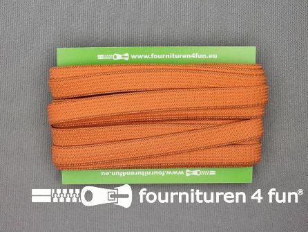 4 Meter gekleurd soepel elastiek 10mm brique