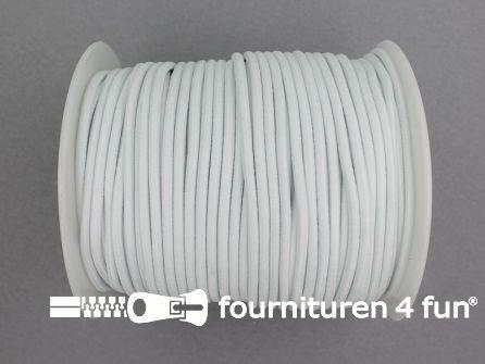 Rol 50 meter budget elastisch koord 2,7mm wit