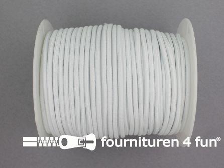 Rol 50 meter budget elastisch koord 2,7mm off white