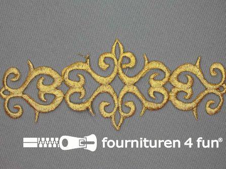 Barok applicatie 192x75mm goud