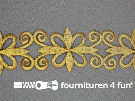 Goud applicatie band 47mm - per meter