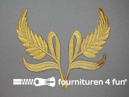 Barok applicatie 160x160mm goud