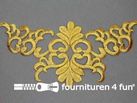 Barok applicatie 200x98mm goud