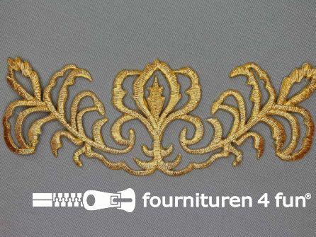 Barok applicatie 168x65mm goud