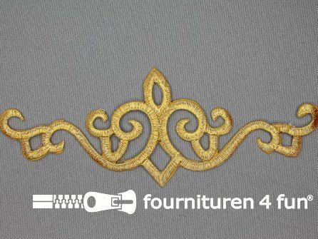 Barok applicatie 188x66mm goud