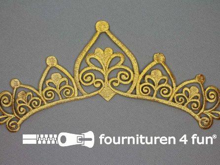 Barok applicatie 222x80mm goud