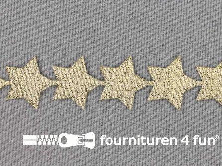Guirlande sterretjes 20mm goud