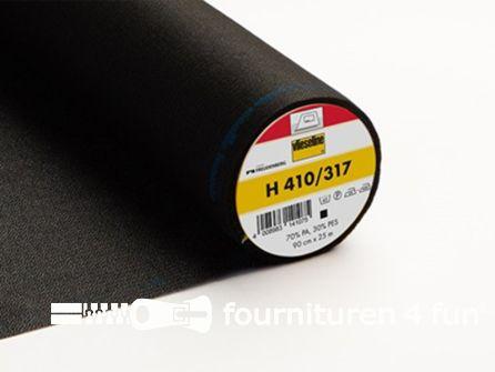 COUPON 120x90cmVlieseline® Softline H410 zwart